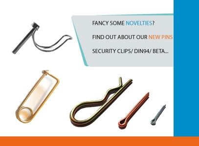 Discover our new range of pins