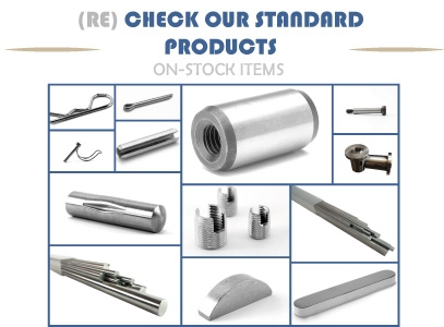 (Re) Discover our standard product range