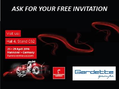 Gardette & LGC estarán en la Feriá de Hanover